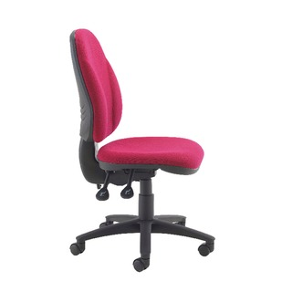 Concept High Back Tilt Operator Claret Chair
