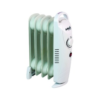 500W Six Fin Baby Oil-Filled Radiator White CRHOF320/