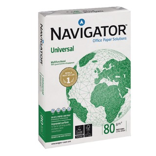 Universal A4 Paper 80gsm White (2500 Pack) NAVA48