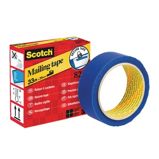 Secure Mailing Tape 35mmx33m Blue 820