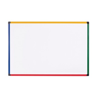 office Coloured Frame Magnetic Drywipe Board 600x450 MB0407
