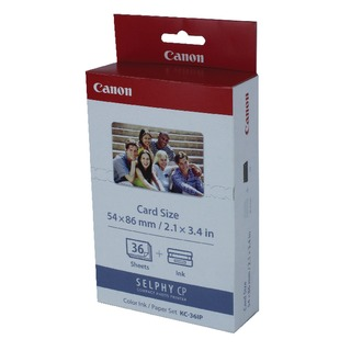 KC-36IP Colour Inkjet Cartridge and Papers Set 7739A001