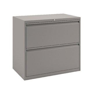 2 Drawer Unit Goose Grey