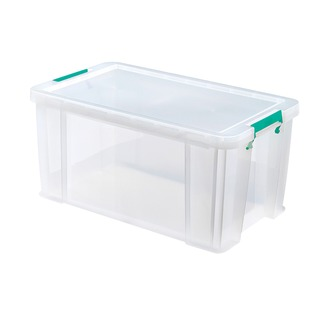 54 Litre Clear W640xD380xH310mm Store Box