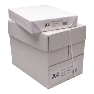 White Copier A4 Paper (2500 Pack)