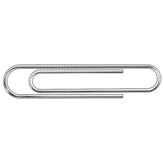 Paperclip Giant Serrated (100 Pack) 325
