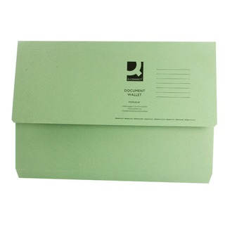 Green Document Wallet (50 Pack) 45914EAST