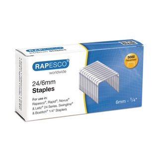 6mm 24/6 Staples (5000 Pack) S24602Z3