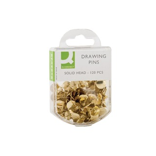 Drawing Pin Solid Brass Head (1200 Pack)
