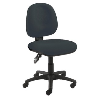 Concept Medium Back Permanent Contact Operator Charcoal Chair