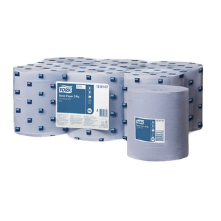 M2 Centrefeed 2-Ply 150m Blue Roll (6 Pack) 128107