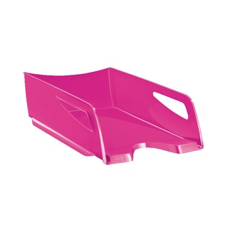 Maxi Gloss Letter Tray Pink 1002200371