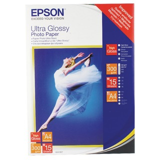 Ultra A4 Glossy Photo Paper (15 Pack) C13S0
