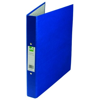 2 Ring 25mm Paper Over Board Blue A4 Binder (10 Pack)