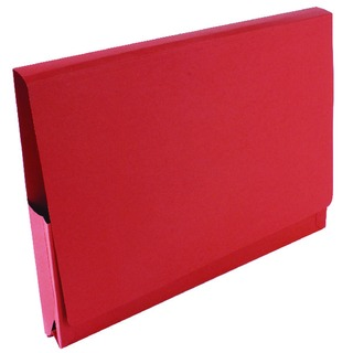 Red Pocket Legal Wallet 14 x 10in (50 Pack) PW3-RED (
