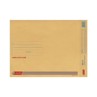 Bubble Lined Envelope Size 10 350x470mm Gold (20 Pack)