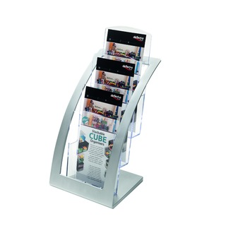 Contemporary Counter Top Stand Silver 693745