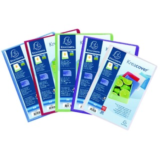 Kreacover Display Book 30 Pocket Assorted Pack of 12 5739E