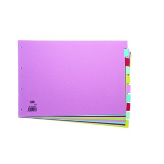 A3 10 Part Assorted Card Divider 100080772
