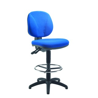 Draughtsman Blue Chair