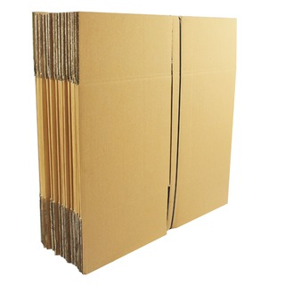 Double Wall Corrugated 305 x 305 x 305mm Brown Cardboard Boxes (15 Pack) SC-