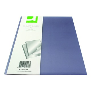 Clear A4 Clear Covers (20 Pack)