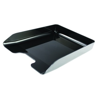Executive Black Letter Tray CP125KFBL