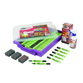 Me Dry Wipe Pens in Gratnells Tray (200 Pack) GTC2