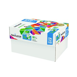 Universal On The Go 80gsm White (1500 Pack) NAVA4OTG