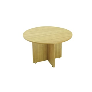 Ash 1200mm Round Meeting Table