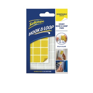 Hook and Loop Removable Pads (24 Pack) 2055468