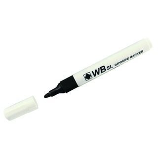 Assorted Whiteboard Marker Pens Bullet Tip (4 Pack) WB15 806