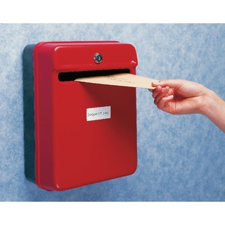 Red Post/Suggestion Box W