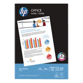 White Office A4 Paper 80gsm (2500 Pack) HPF0317