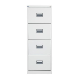 alos 4 Drawer Filing Cabinet White