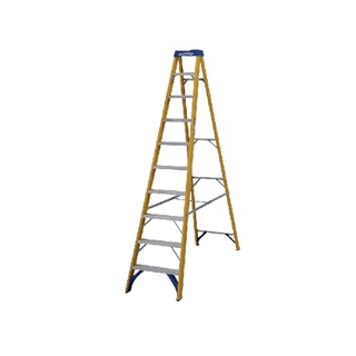 Fibreglass Swingback Step Ladder 10 Tread Yellow