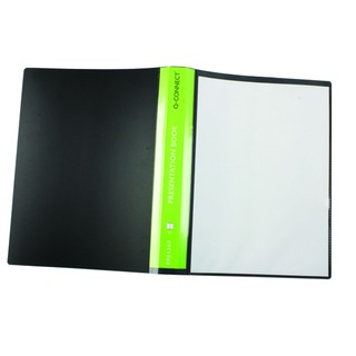 Presentation 40 Pocket Black Display Book