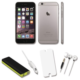 iPhone 6 Certified Pre Owned Bundle Deal with 12000mah Power Bank