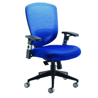 Mesh High Back Task Blue Chair