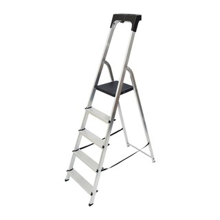 Aluminium High Handrail 5 Tread Step Ladder