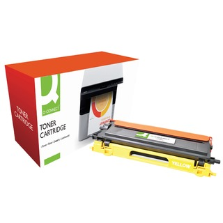 Brother Remanufactured Yellow Toner Cartridge High Yield