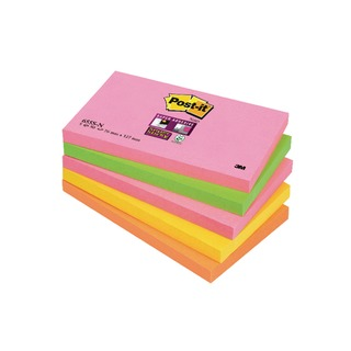 Post-it 76 x 127mm Cape Town Super Sticky Notes (5 Pack) 655-SN
