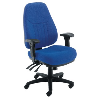 sta Lucania Task Blue Chair