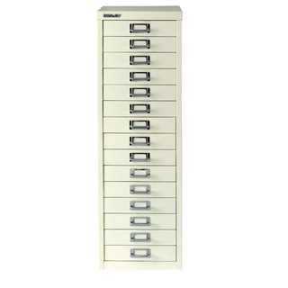Multi-Drawer Cabinet A4 15 Drawer Chalk White