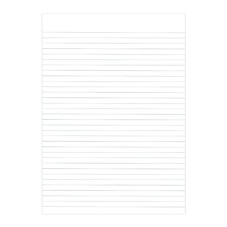 Recycled Memo A4 Pad Feint Ruled 160 Pages 9100036