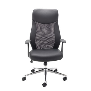 Mesh High Back Operator Black Chair