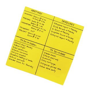 Super Sticky Yellow Big Notes 279 x 279mm (30 Pack) BN11-EU