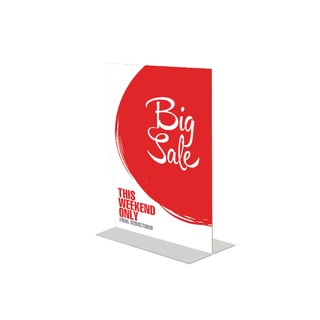 Stand Up Sign Holder A