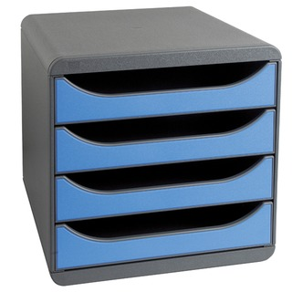 Blue 4 Drawer Set 310779D