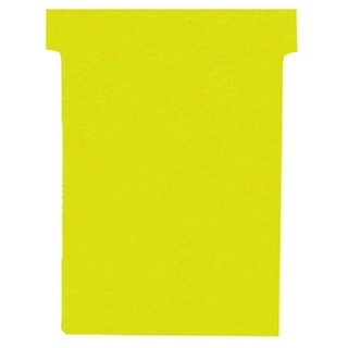 Yellow A110 Size 4 T-Cards (100 Pack)